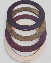 ローズウィンドウ  木の枠と丸いアクリルフレーム 発売(⌒▽⌒)