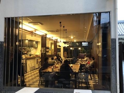 昭和感と今が上手く混在しているカフェ