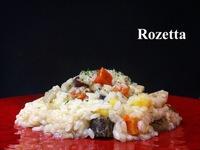 根菜のオリーブオイル煮込み リゾット &11月の予定