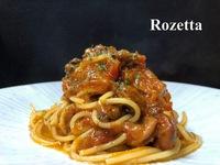 魚介のトマト煮 スパゲッティ