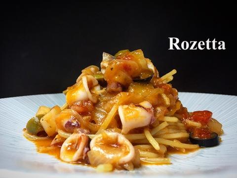 今週のランチ、スパゲッティ