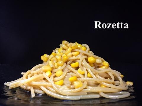 とうもろこしのオイル スパゲッティ