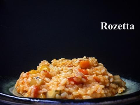 根菜のトマト煮 リゾット