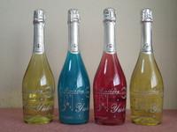 シャンパンでお祝い!!
