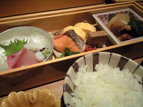 正統派和食で師走ランチ in 岡崎
