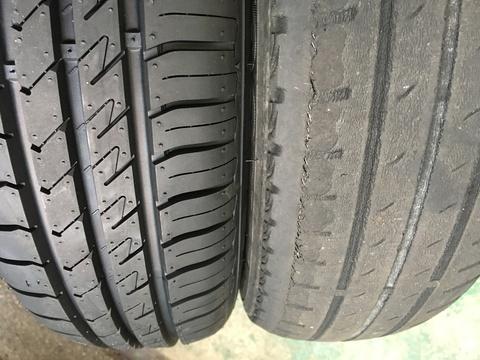 タイヤの空気圧は大丈夫?