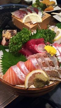 魚丸本店(豊田市)でお刺身最高‼️飲み会~。