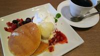 珈琲館 椿 のパンケーキ
