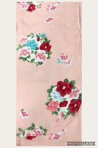 卒業式はかまカタログ:赤古典花柄 ピンク縦縞に花柄 黒縞に花柄