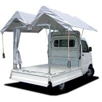 軽トラック荷台用幌キット「SKウィング」はオリジナルカスタマイズ対応できます。