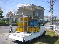 「価格は高いけど、頑丈だし長い目で見てウイングを選んだ」ホンダ・アクティに取付け(北海道 K様・農産物)