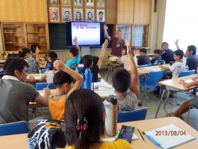 夏休み自由研究教室「ホタルの謎」を開催しました!
