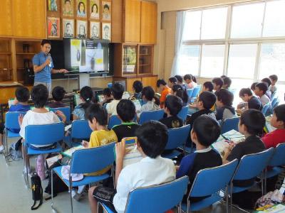ホタル学校で環境教室!(美合小学校4年生)