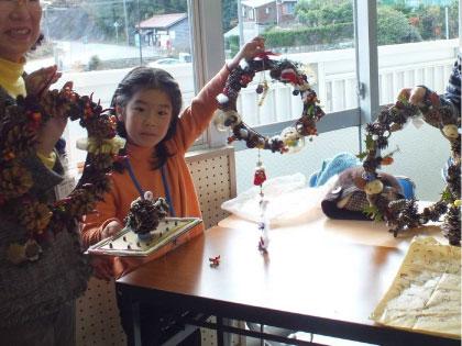ホタル学校「自然素材でクリスマス」参加者募集!