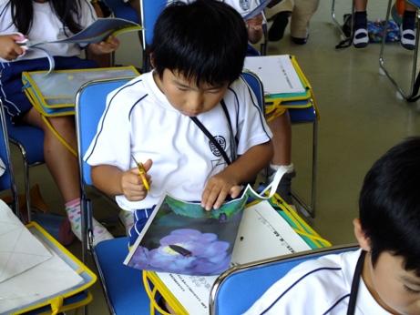 ホタル学校で環境教室!「豊富小学校」2年生が来校しました!