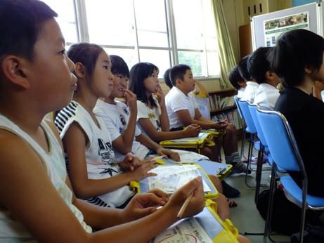 ホタル学校で環境教室!「井田小学校」4年生が来校しました!