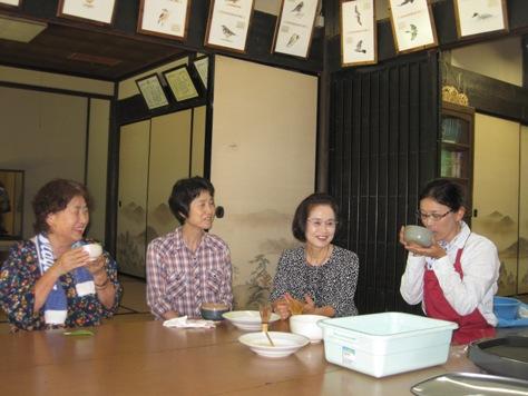 お味はいかが?「抹茶試飲会」を開催しました!