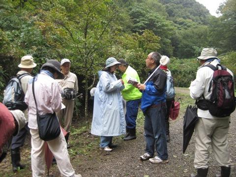 自然観察会「森は実りの秋」を行いました!