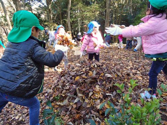 わんPark「年中園児向け自然体験プログラム」がスタート!