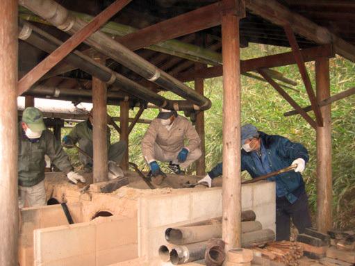 第1回「ドラム缶窯改修プログラム」を実施しました!