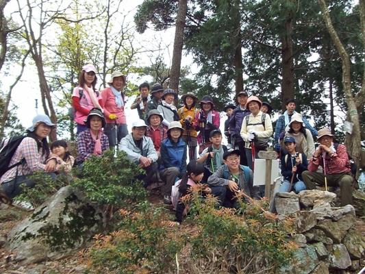 春の里山を歩こう!「水晶山トレッキング」開催レポート