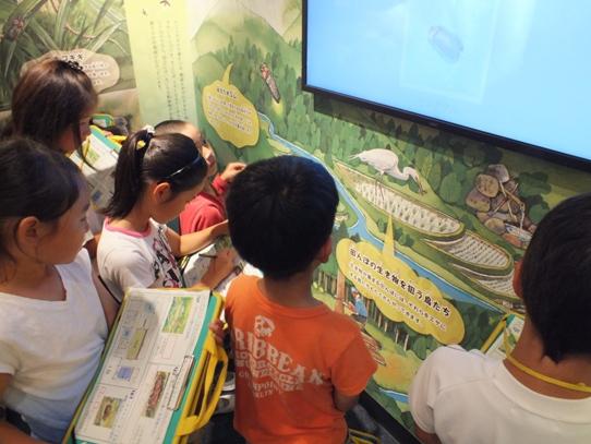 ホタル学校で環境教室を開催!豊富小学校2年生が来校