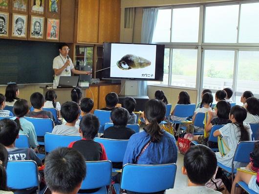 城南小学校4年生が来校!ホタル学校で環境教室