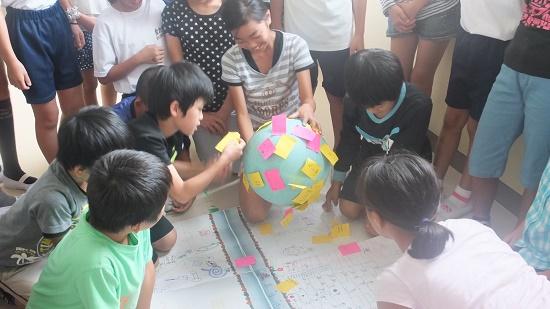 「水」環境について考えよう!「男川小学校」で出前講座