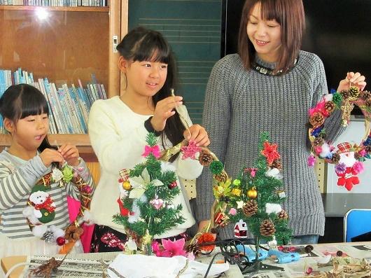 参加者募集中!自然素材でクリスマス飾りを作ろう☆