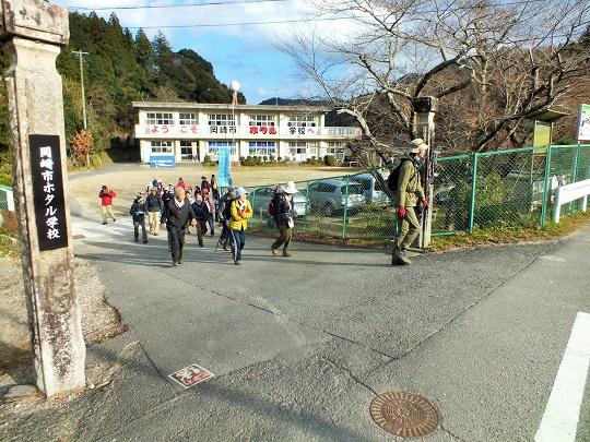 冬の里山と名水を巡る!額堂山トレッキングを実施