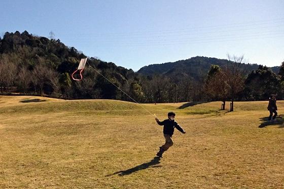凧を作って揚げてみよう in わんPark
