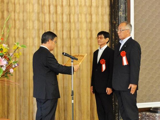 「きこりの会」が愛知県環境保全関係功労者表彰を受賞