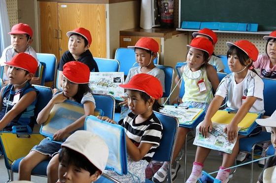 初めての環境教室!豊富小学校1年生がホタル学校にやって来た☆