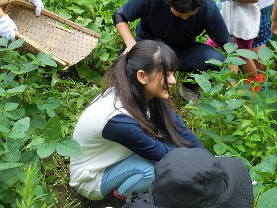おかざき自然体験の森に「OS☆U」と「モリゾー・キッコロ」がやって来た!