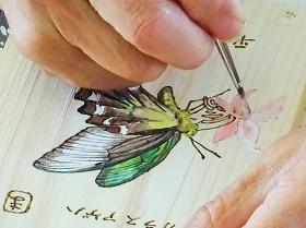 待ちに待った夏休み☆木の「虫かご」を作ったよ!