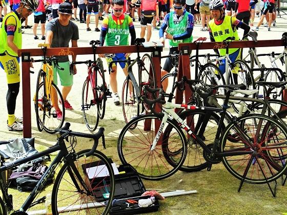 鳥川サイクリングフェスティバルが開催