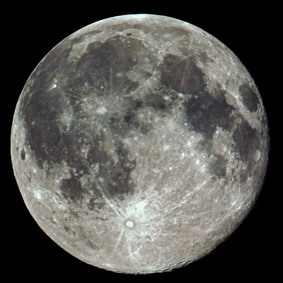 「月のクレーターと土星の輪観望会」は中止・・・