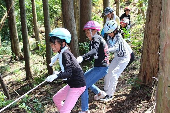 水の循環と森の働きを体験!豊富小学校5年生が環境教室に参加
