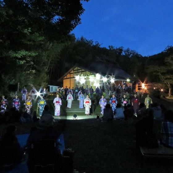 心に響くハーモニー「森の十三夜音楽会」