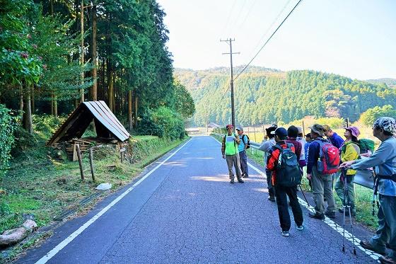 秋晴れ!絶景!ホタルの里の山歩きイベントを開催