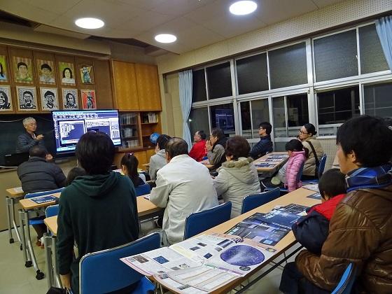 月のクレーターと天王星観望会を開催☆