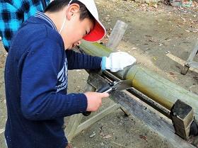 宮崎小学校3・4年生が来園☆おかざき自然体験の森で環境教室を開催