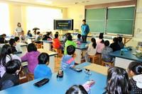 森と私たちの暮らしの関係を学ぶ!豊富小学校で出前授業を実施