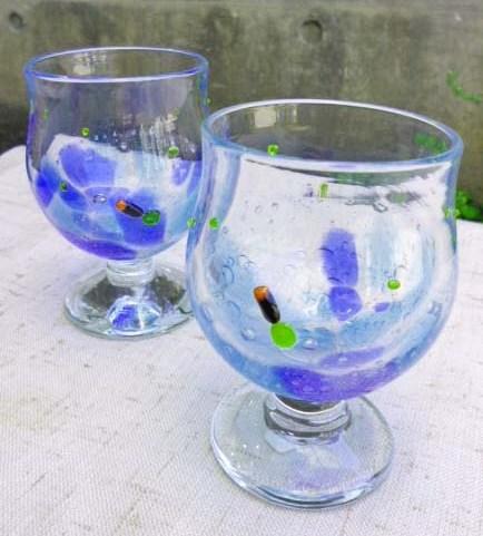 新商品が登場☆ホタルのガラス工芸品