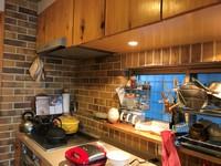 和風のお家「日本の蔵」お家づくりストーリー⑧和風だけどレンガ!こだわりが詰まった素敵なキッチン♪