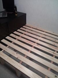 ベッドを作った