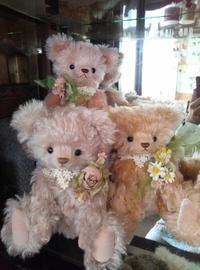 【作品紹介】テディベアコンベンションに連れていきます  お花シリーズ