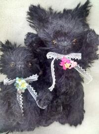 【オーダー作品紹介】黒猫ちゃん!