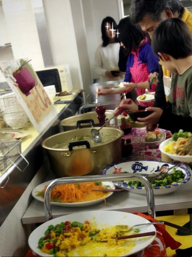 手料理の感動は、未だ心の中に。