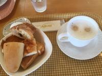 サンドイッチカフェ『ラパンシェリ』さんで モーニング会議